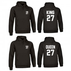 Sudadera King-Queen