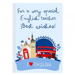 "Libreta ""Best wishes"""